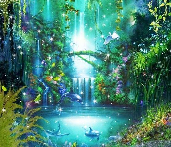 Garden Of Eden Landscape: Hilarion ~ The Return Of The Garden Of Eden