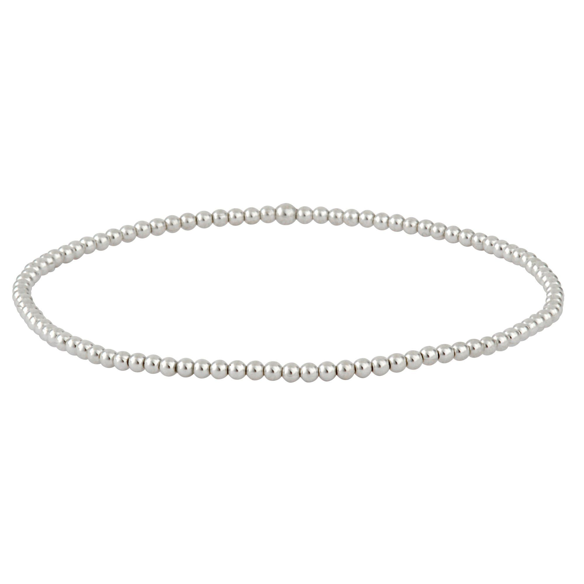 tropicalmiss flat products silver elastic anklet chain