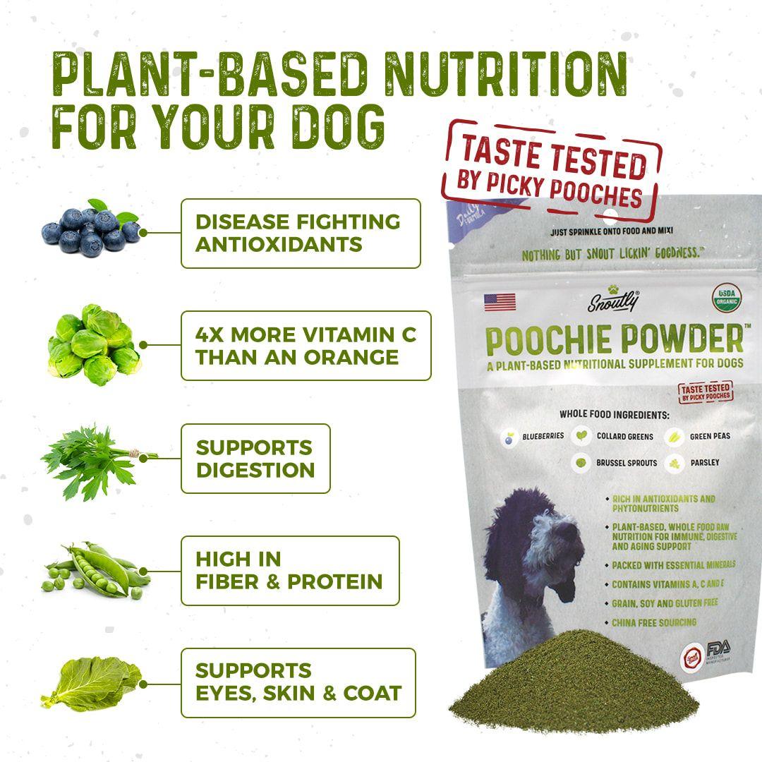 Poochie Powder®, A Certified Organic, Nutritional