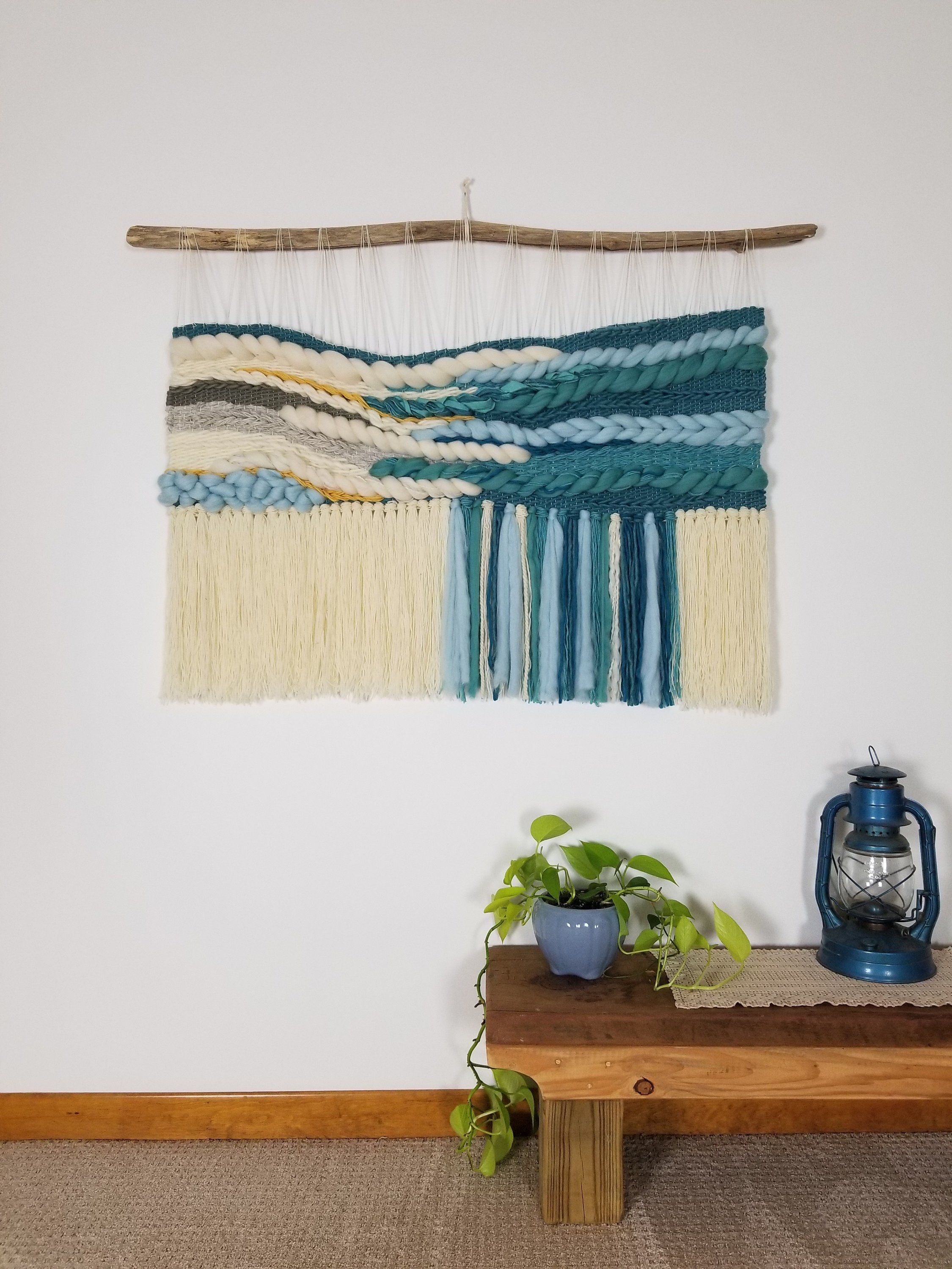Xl Woven Wall Hanging Extra Large Wall Hanging Wall Weaving