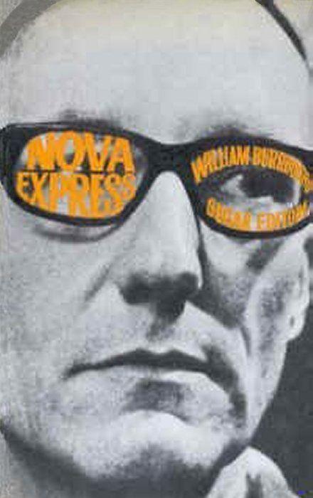 William Burroughs book covers via Manystuff.org