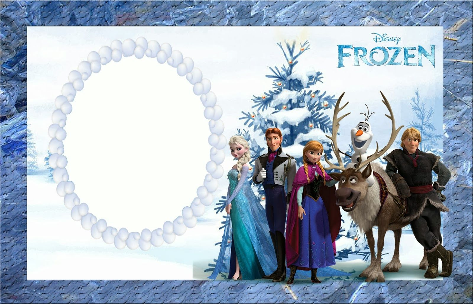 Frozen Party: Free Printable Invitations. | Aaleen\'s 2nd birthday ...