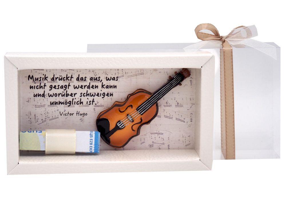 Geldgeschenk Verpackung Musik Konzert Klassik Geige – ZauberDeko.de – Deko, Geschenke und Wohnaccessoires für alle Anlässe