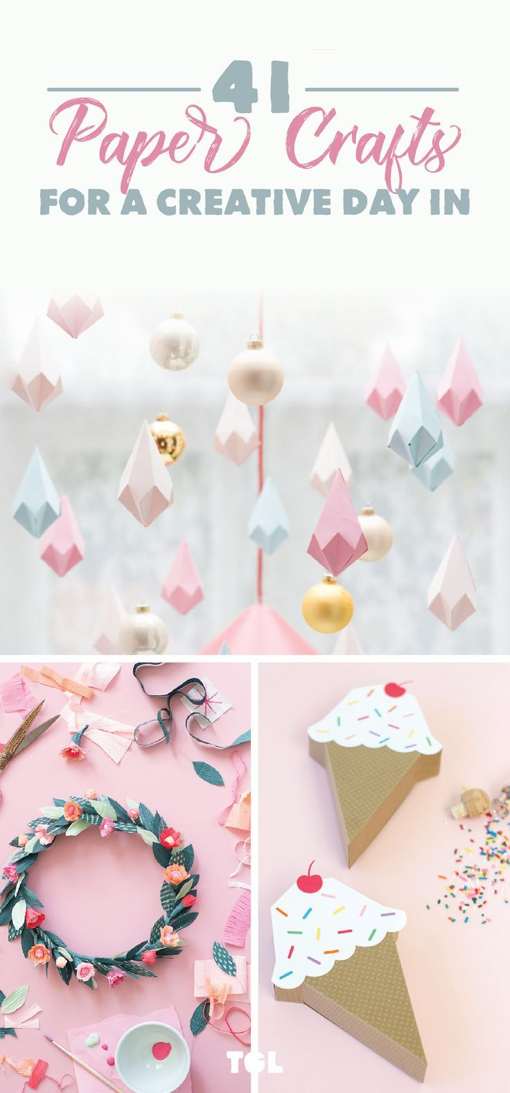 41 Paper Craft Ideas For A Creative Day In Easy Paper