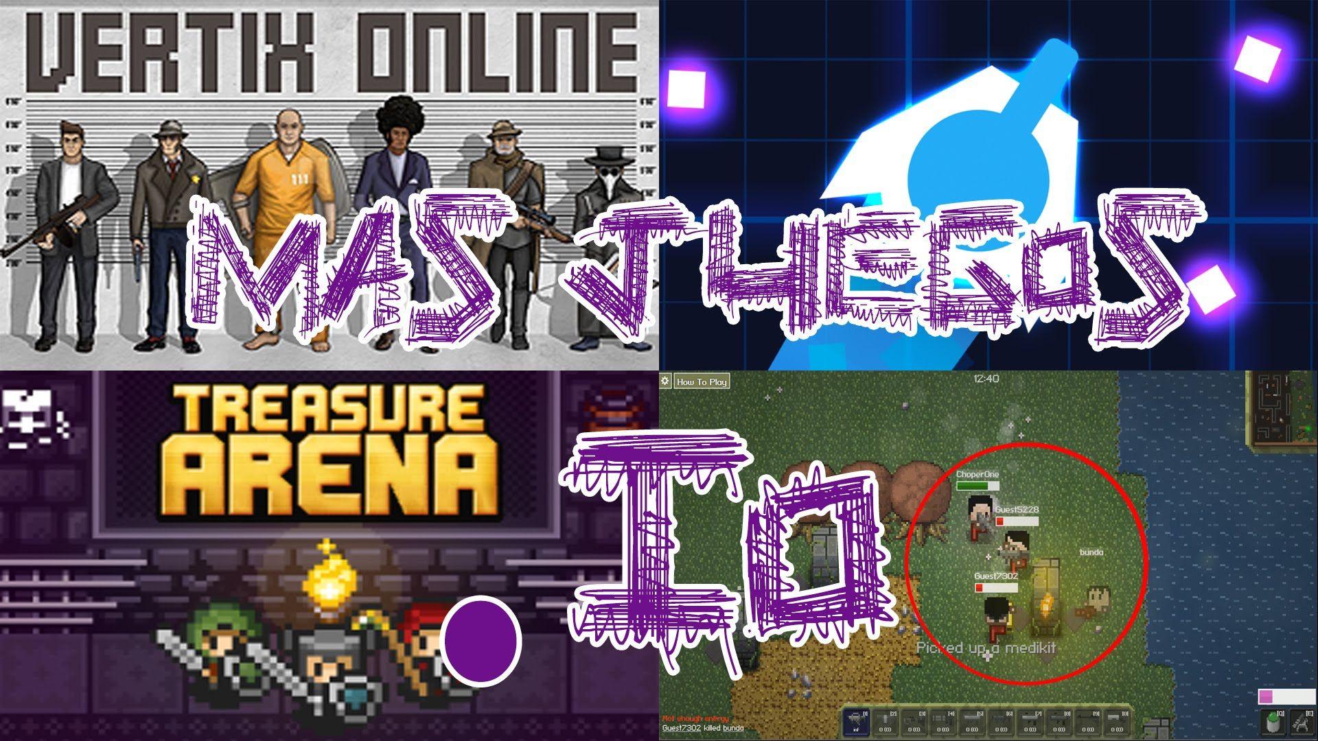 Top Juegos Io Treasure Arena Gunr Slay One Y Vertix Slither Io