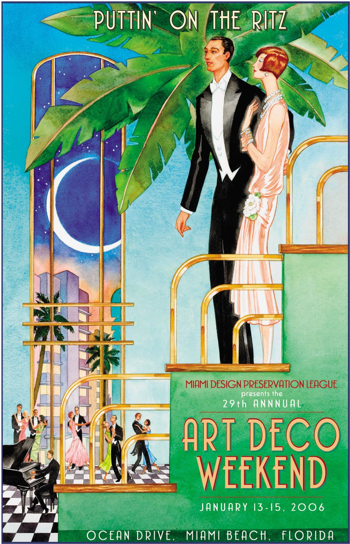 Archives Art Deco Weekend Art Deco Weekend Miami Art Deco Art Deco Posters