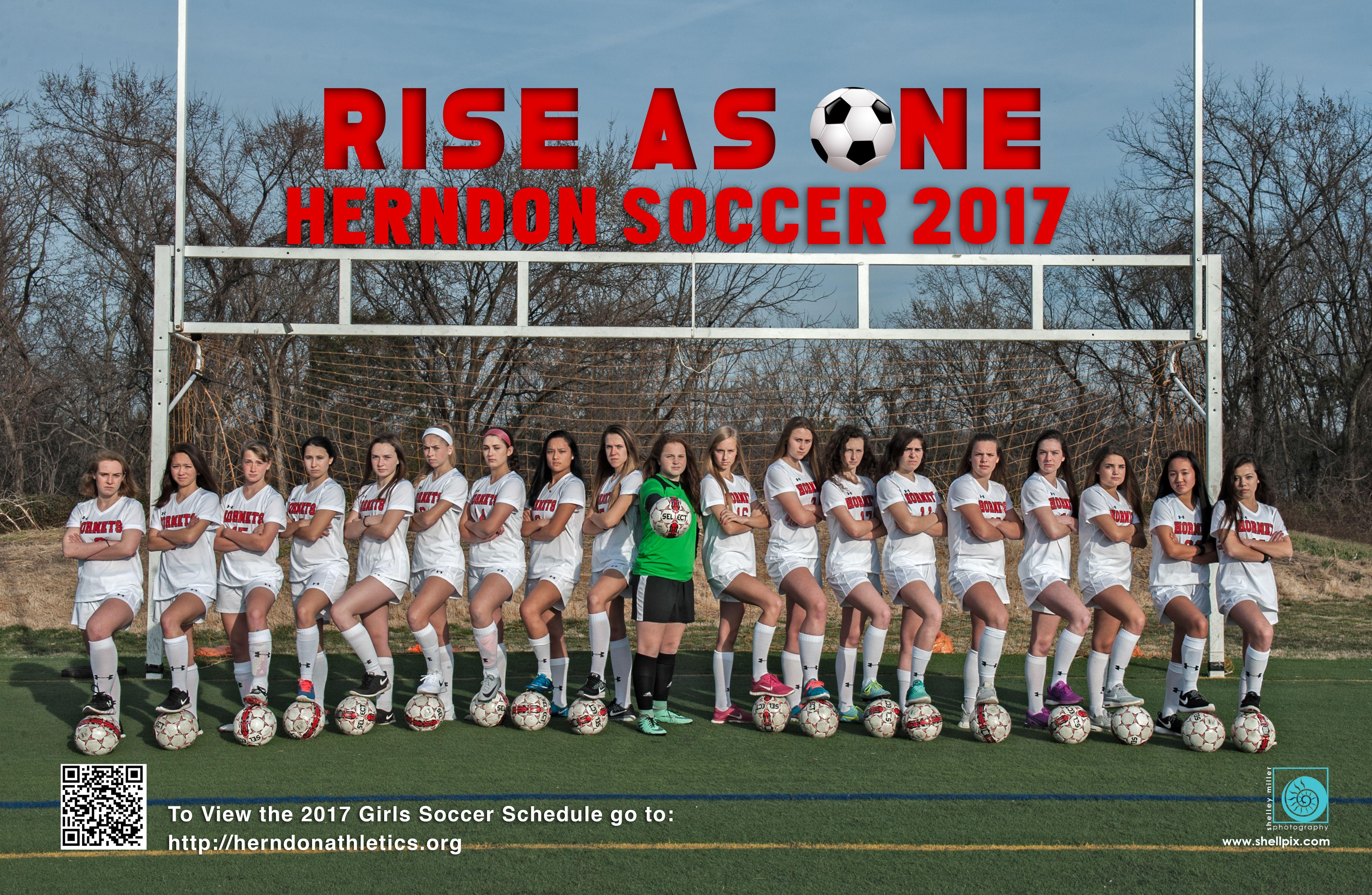 Sports Team Posters Girls Varsity Soccer Team Poster Sport Poster Winchester Virginia Virginia