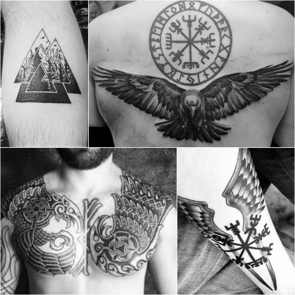Viking Tattoos Ideas Scandinavian Tattoos Ideas for Men