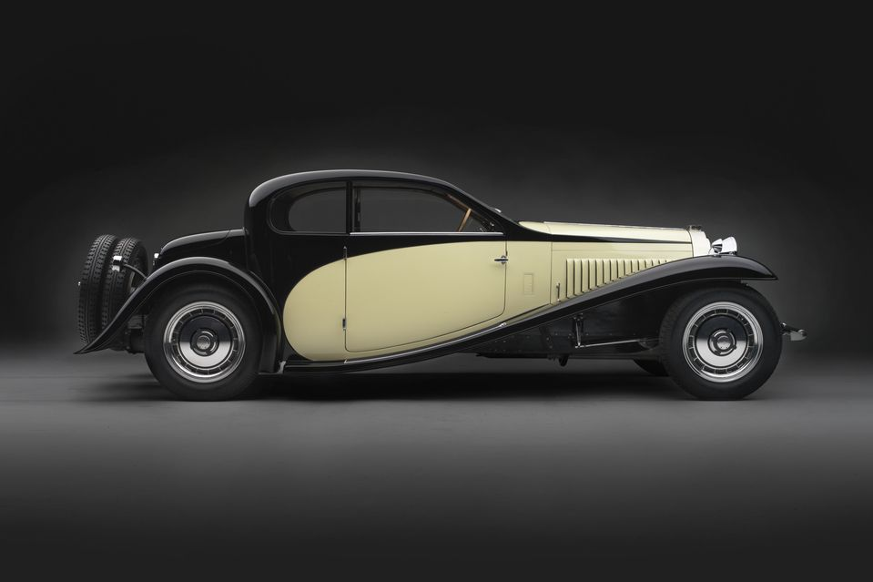 1930 Bugatti Type 46 Semi-profile Coupe. Collection of Merle and Peter Mullin.