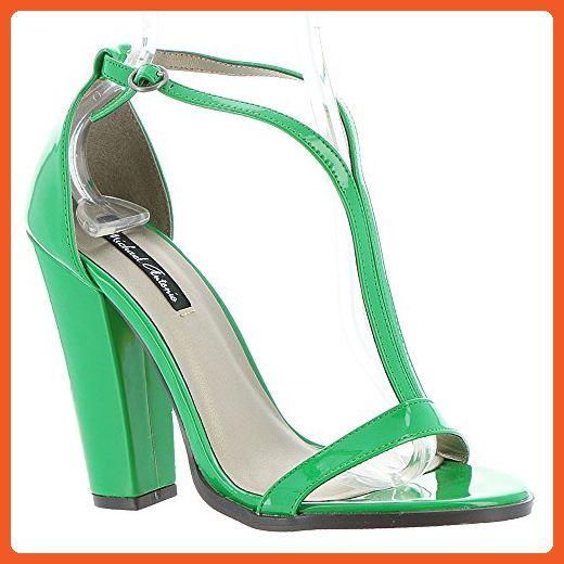 c0c24826ddb6b Michael Antonio Jons Women's Sandal 10 B(M) US Green - Sandals for ...
