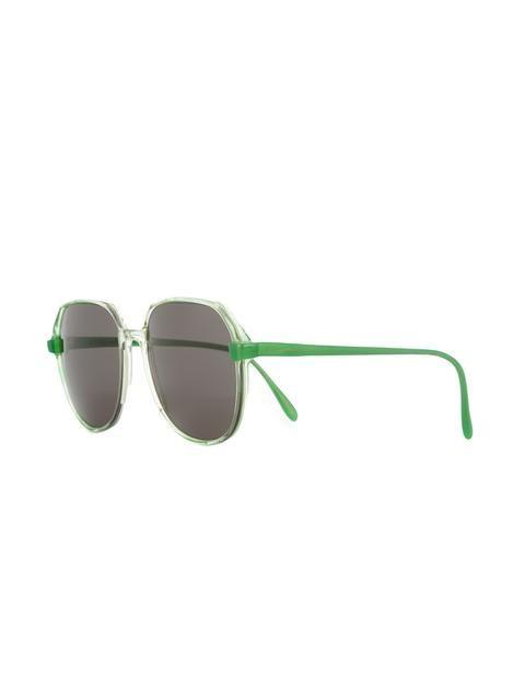3d7cfd0a9874 Krizia Vintage round frame sunglasses