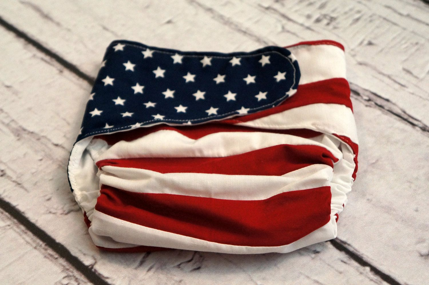 Baby boy canadian flag and american flag combo by