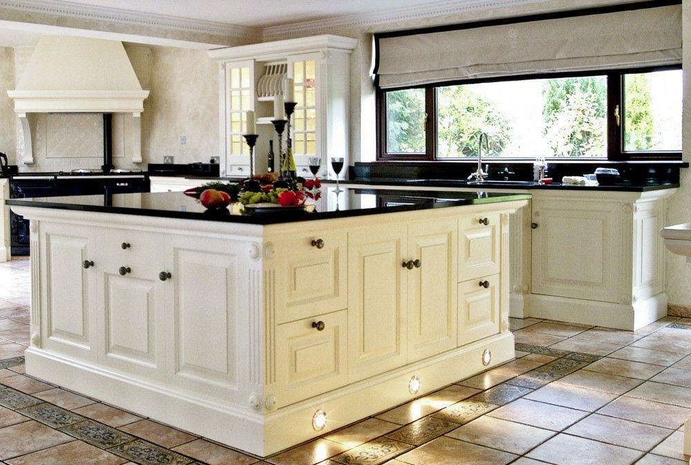 kitchen black and white | white kitchens with granite: this sweat