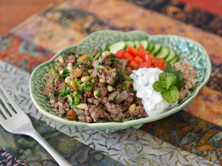 We Tri'd It: Lamb Power Bowls (Thanks David Tanis & New York Times Food) #athletefood