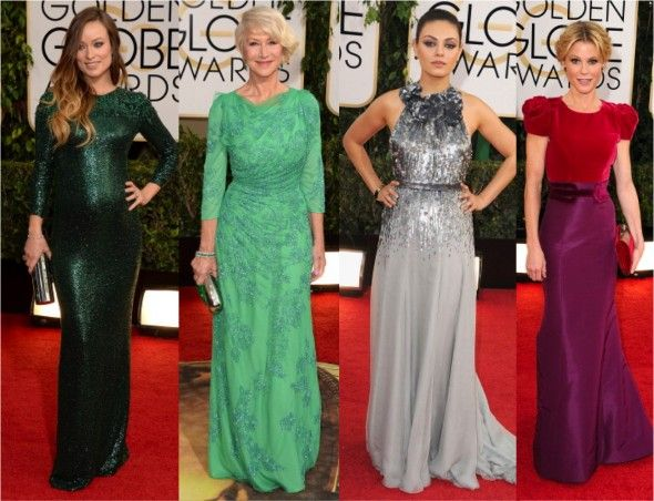 Golden Globe 2013: Mais looks