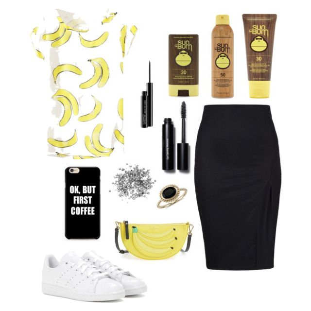 Summer Banana #polyvore