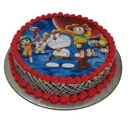 Doraemon Photo Cake Online Delivery Is Available In Delhi NCR Find And Save Ideas For