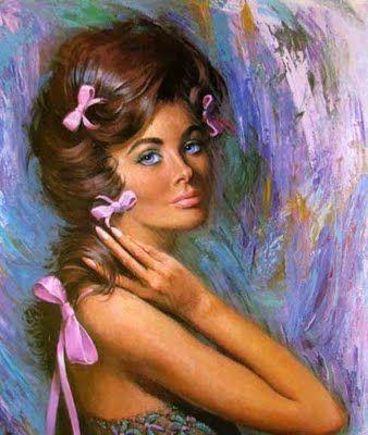 GirlWhimsy: Lovely Ladies by artist Lou Shabner