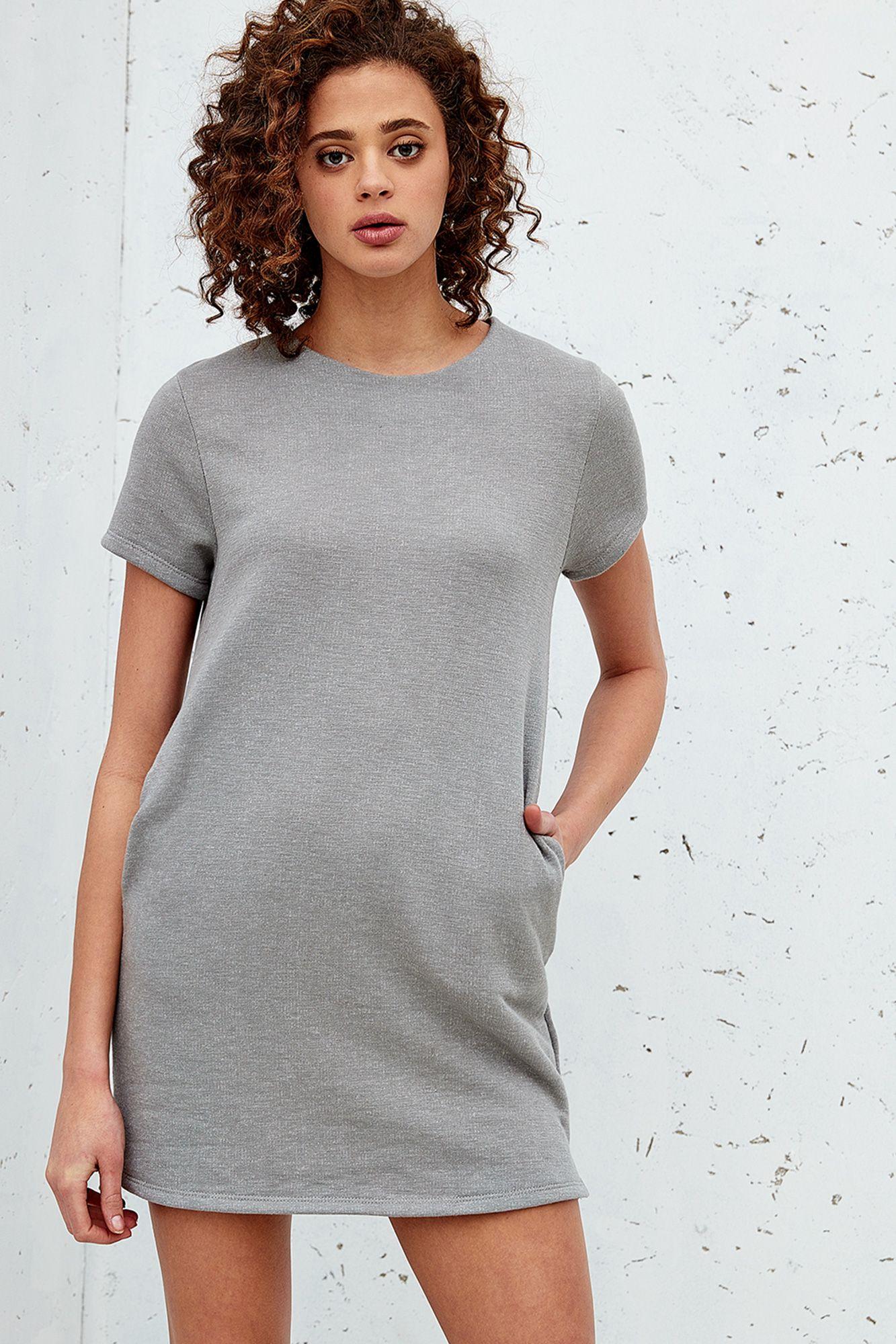 Longline Knit Dress