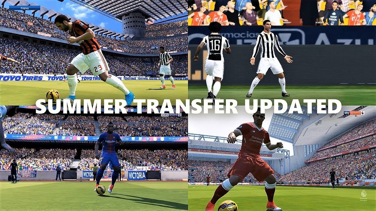 Summer Transfer 2018 Updated | Option File Update For PTE