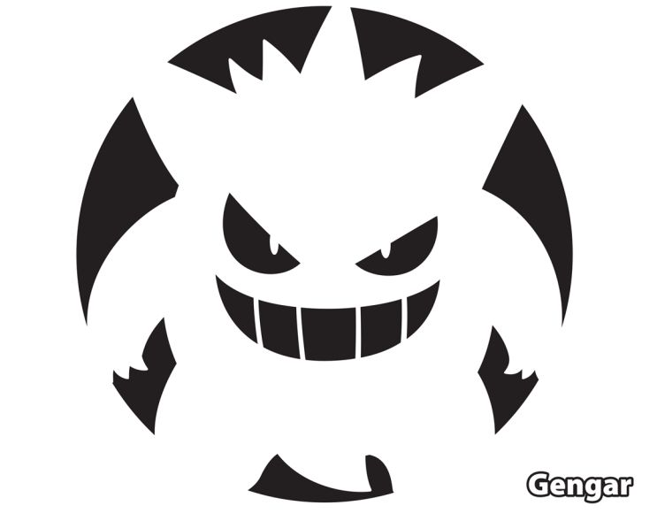 Pokmon Pumpkin Stencils  You DonT Just Have To   Tiny