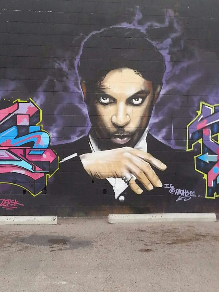 Prince mural in las cruces new mx with images tribute