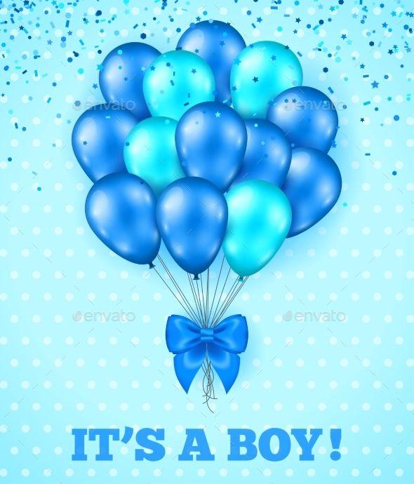 It S A Boy Baby Shower Background Baby Shower Background Baby Shower Invitations Design Baby Boy Shower