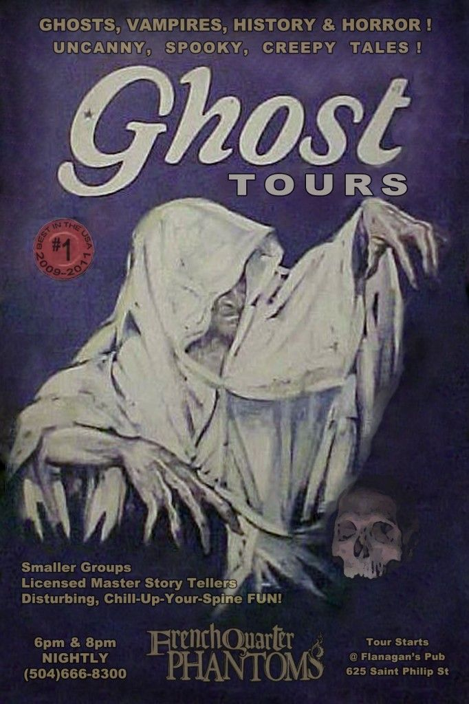 New Orleans Ghost Tour....