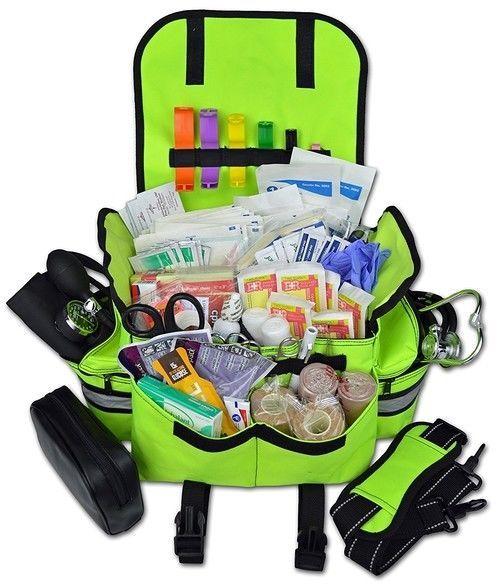 Paramedic Trauma Bag First Responder Kit B Bls Medical Supplies Emt Ems Survival Fireskygifts Survivallife
