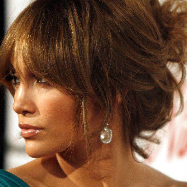 Pin By Jennifer Seefeldt On Lighting: Jennifer-Lopez-Light-Brown-Messy-Updos-Hairstyles.jpg 600