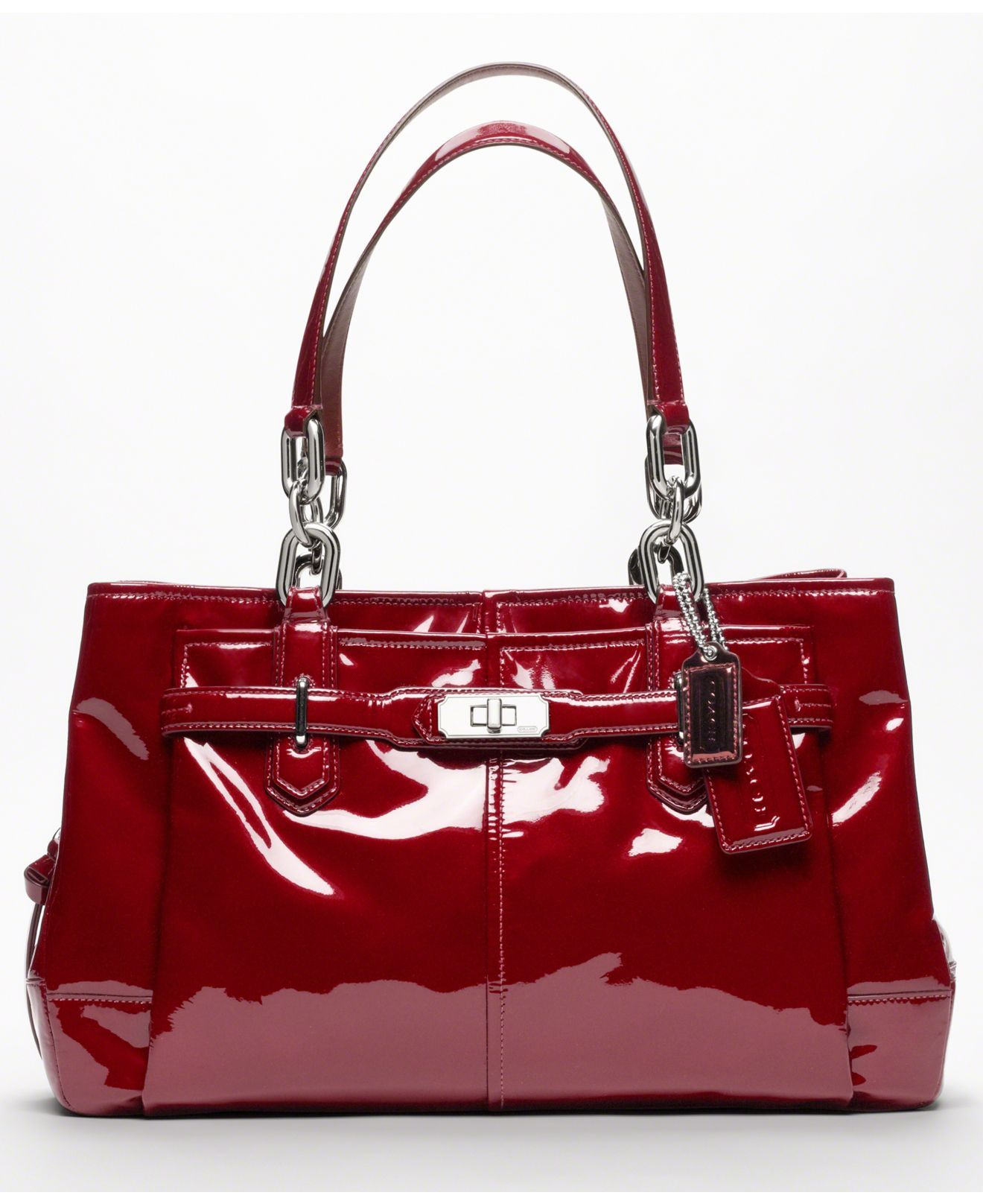 ffaf64c321 COACH CHELSEA PATENT LEATHER JAYDEN CARRYALL - Handbags Accessories - Macys.  This was a birthday gift to myself. Scored it on ebay.