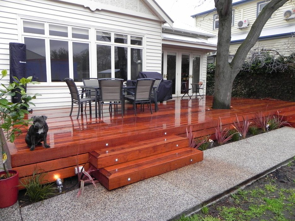 Beautiful 55 Square Mtr Merbau Decking Decking Out