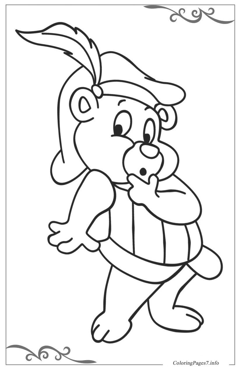 Adventures Of The Gummi Bears Printable Coloring Pages For Kids