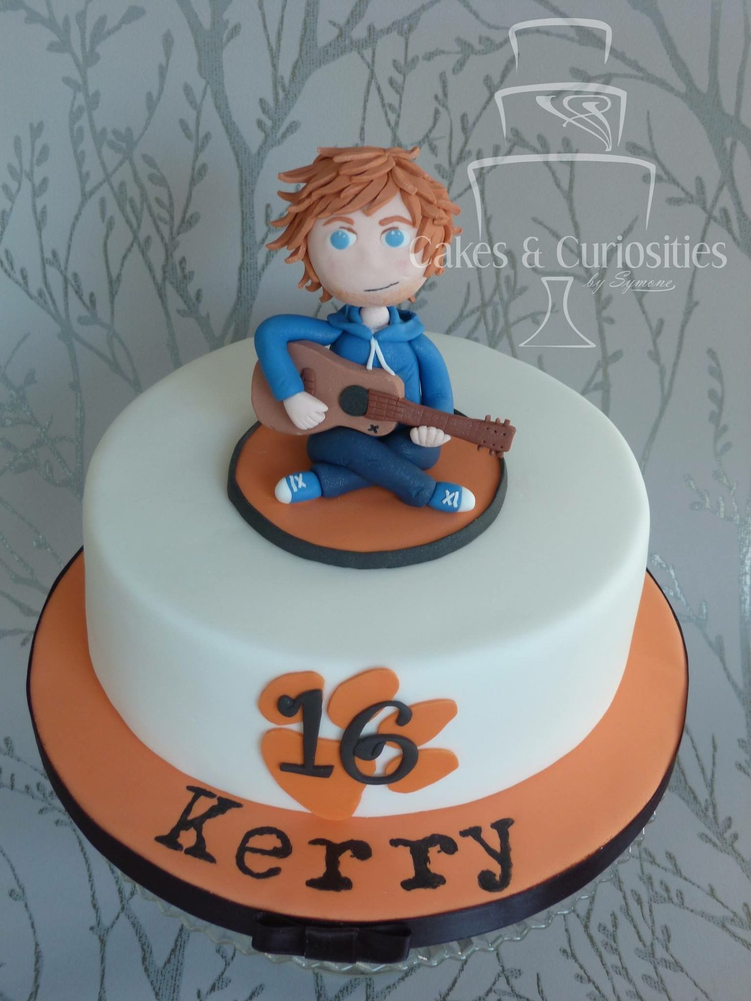 Ed Sheeran Cake Bolo De Coracao Bolo Aniversario