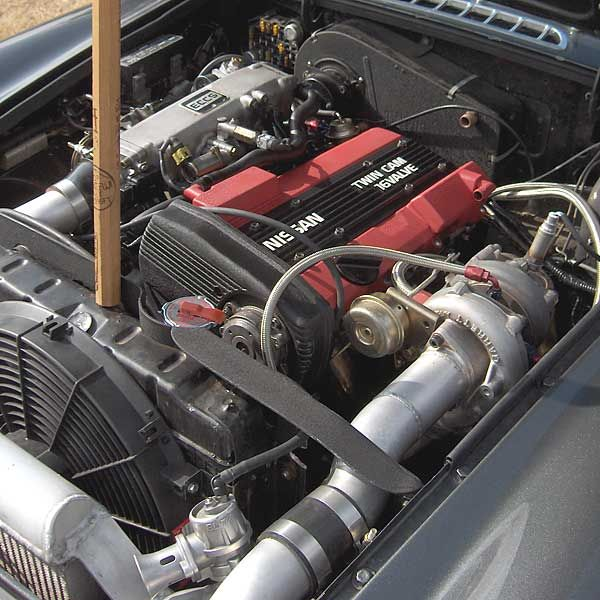Nissan Twin-Cam MGB/GT | My wants | Nissan, Mg cars, Nissan