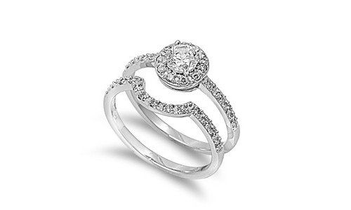 Sterling Silver Designer Engagement Ring Wedding Band Bridal Set Clear Round CZ Size 10 CYBER MONDAY DEALS 2013 CHRISTMAS PRESENTS GIFT SALE Sac Silver,http://www.amazon.com/dp/B00FB05TAA/ref=cm_sw_r_pi_dp_hrKXsb0HTKYH2WH9