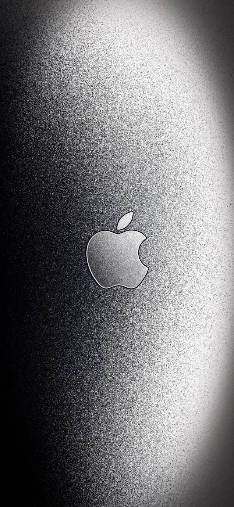 Aluminum Apple logo wallpapers for iPhone (With images