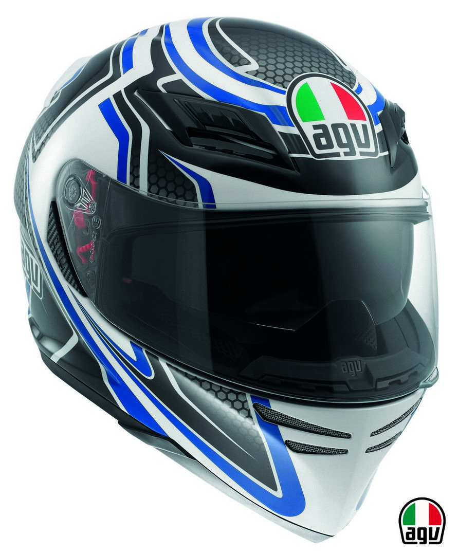 AGV Horizon - Racer White/Carbon/Blue