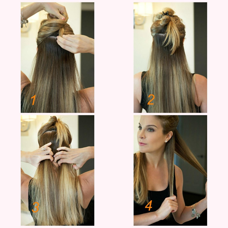 Two simple voluminous waves tutorials woman hairstyles