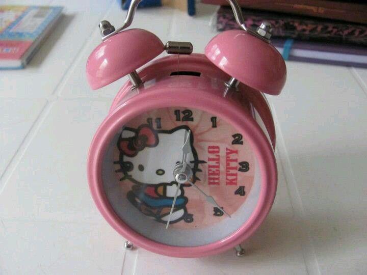 Reloj despertador Hello Kitty
