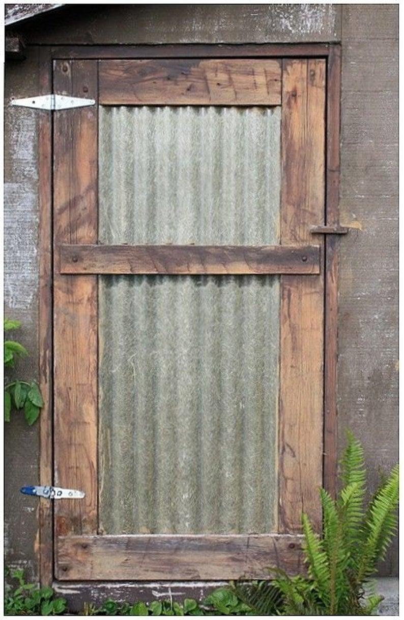 Salvage Galvanized Metal Sheets Perfect For Your Next Diy Etsy Metal Buildings Metal Barn Barn Doors Sliding