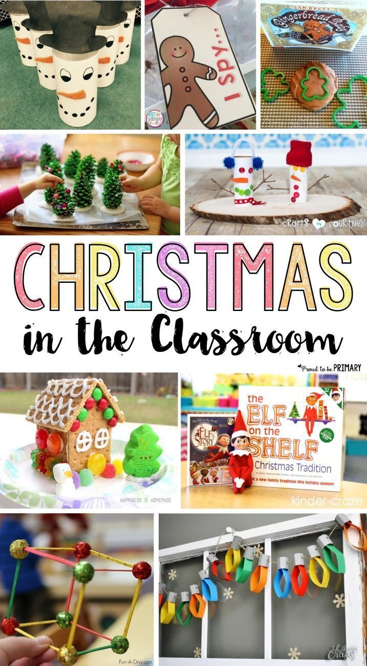 Classroom Christmas Craft Ideas Part - 30: 30 Ideas For Christmas In The Classroom