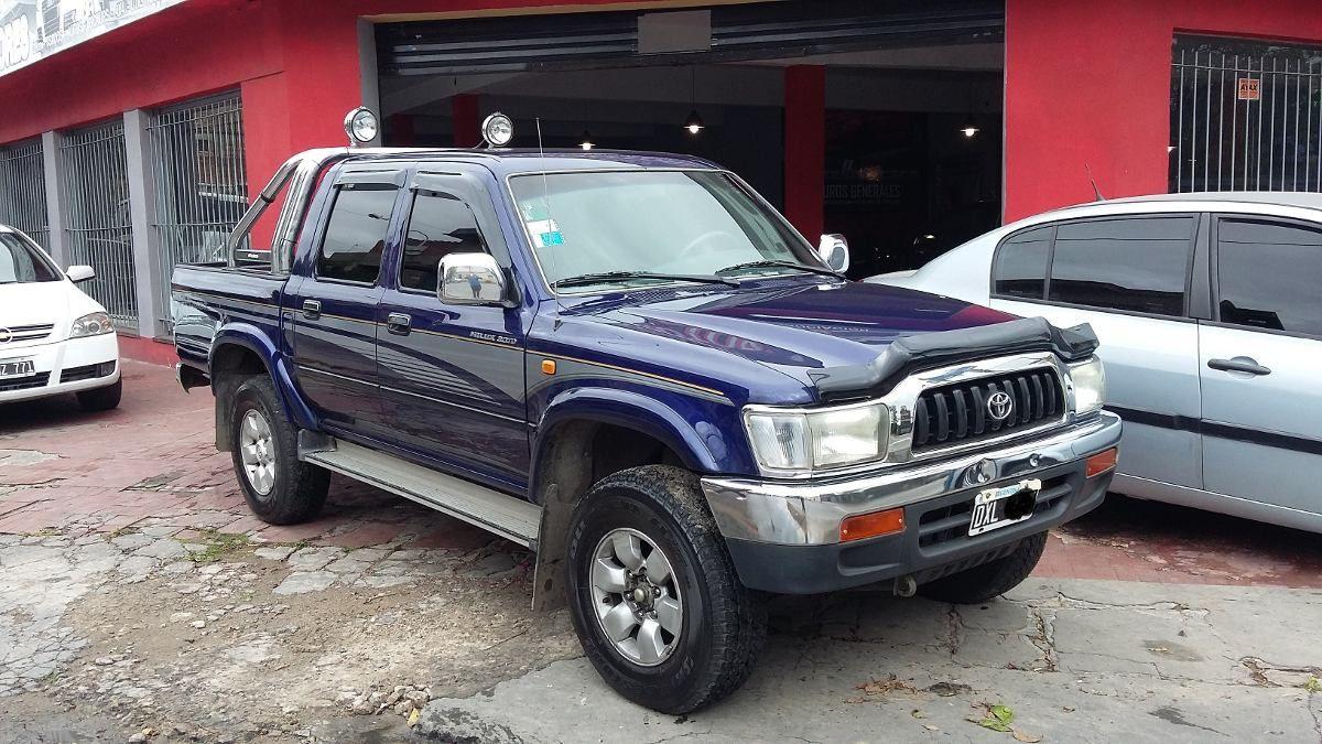 Toyota Hilux 4x4 Srv 3.0turbo -permuto-financio - Año 2002 - 220000 ...