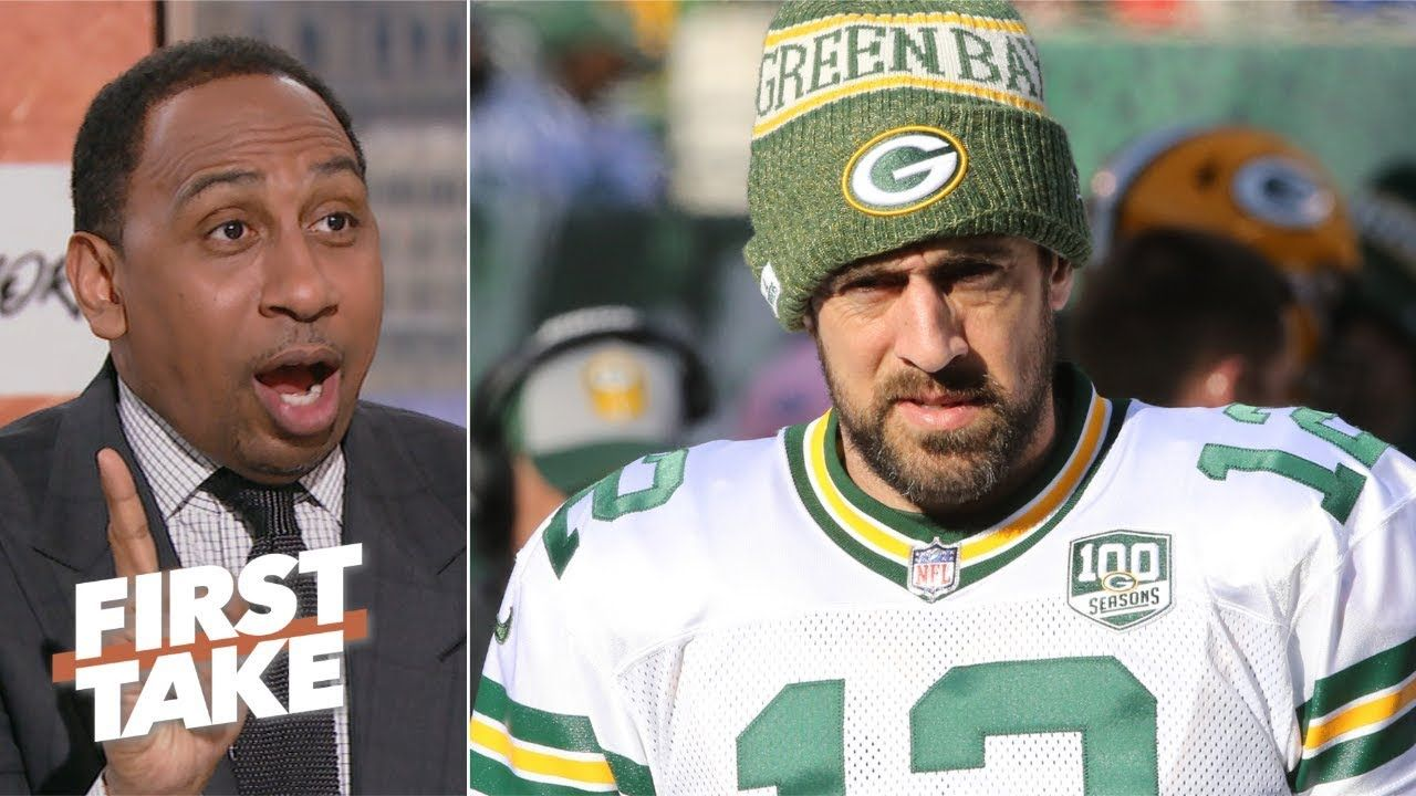 Packers Are Showing Aaron Rodgers A Lack Of Appreciation And Respect Stephen A First Take Aaron Rodgers Basketball News Packers