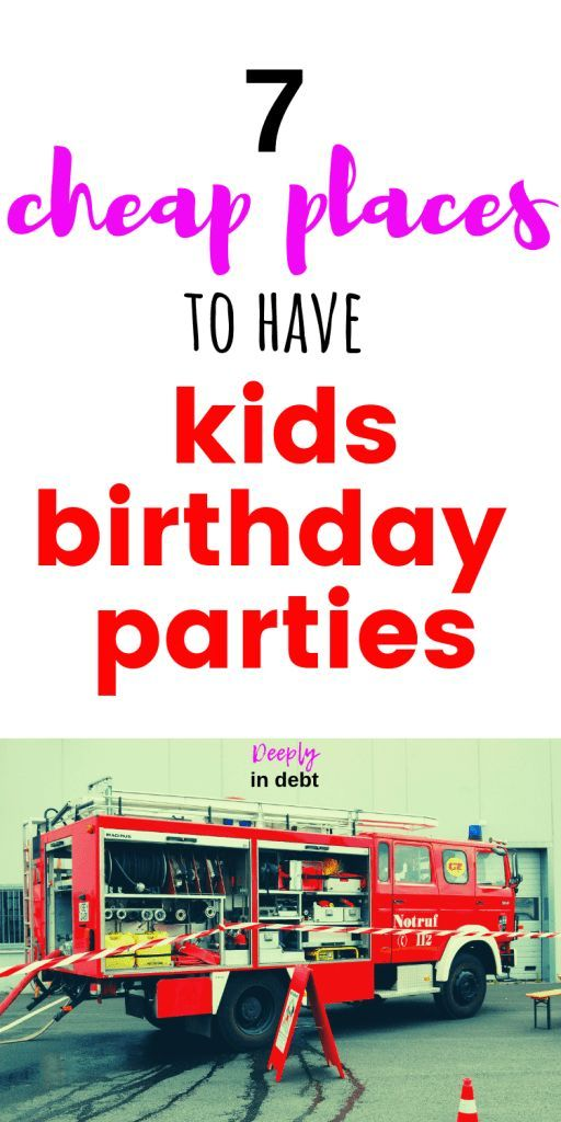 CHEAP PLACES FOR KIDS' BIRTHDAY PARTIES is part of Free And Cheap Birthday Party Places  Families - Our little man's FOURTH birthday is coming up! So I've been on the hunt for a cheap place to have his birthday party (if we have one at all)  Even though we are on a journey paying off six figures of student loan debt, I try to do my best to live an abundant life, …