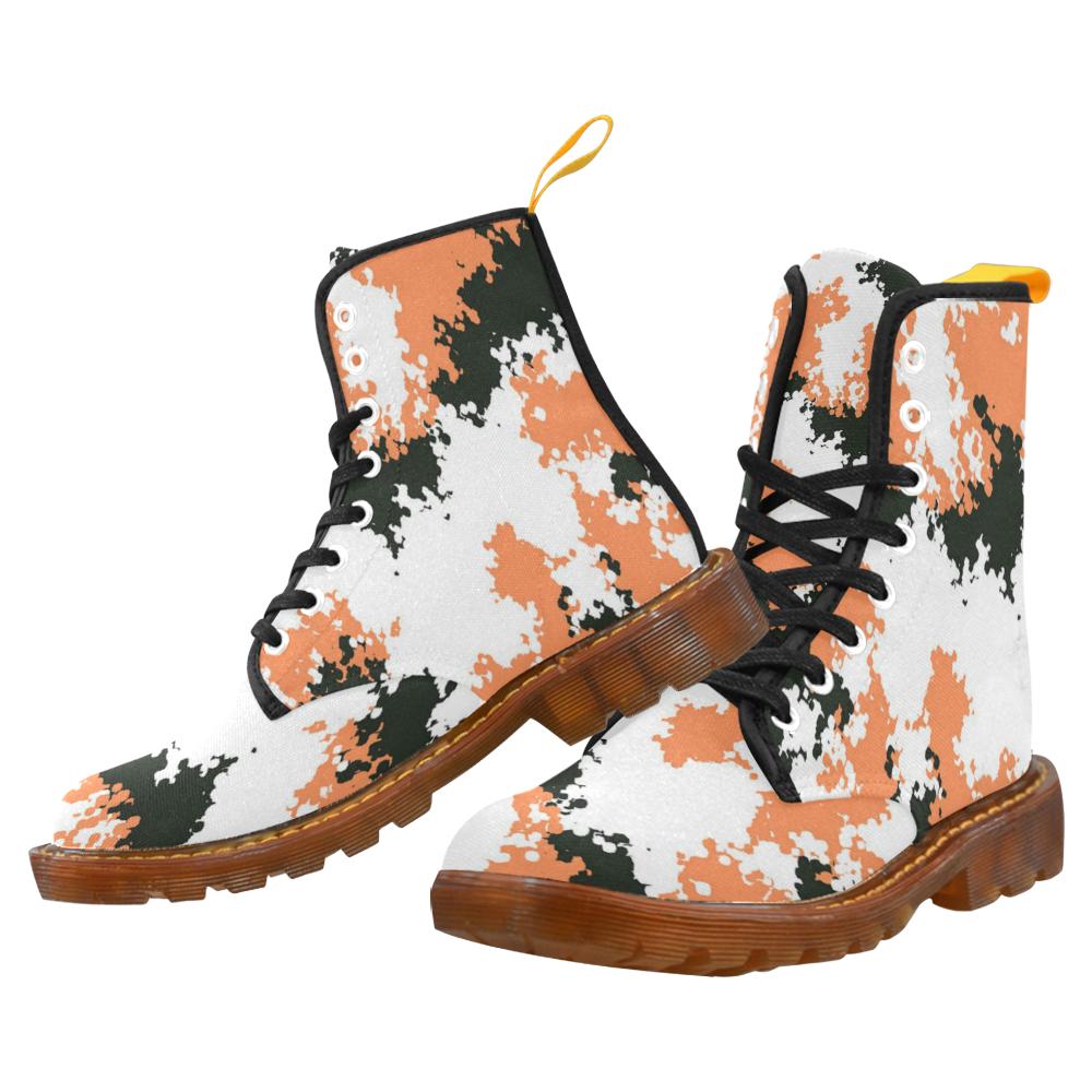 6e4e7524441a5 Urban Yeezy 500 Orange Black Light Camo Martin Boots For Women. Black Light  Ready!!!
