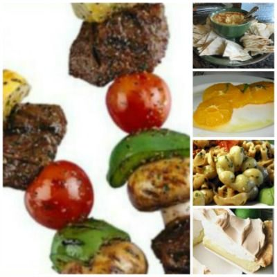 Backyard Barbecue Dinner – Menu and Recipes (With images ...