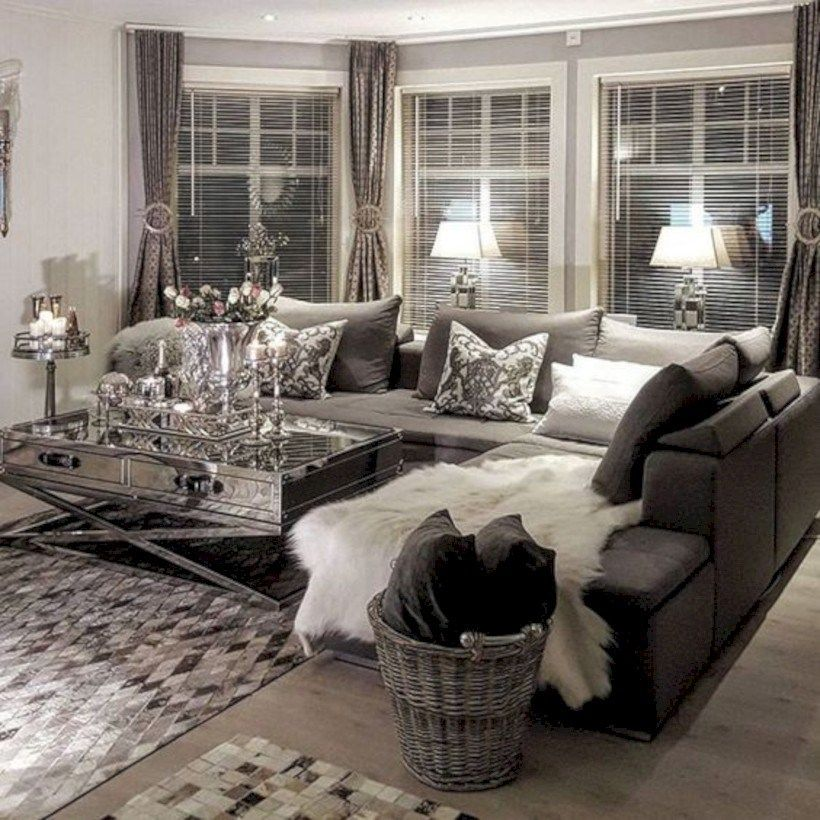 Grey Sectional 46 Amazing Small Living Rooms Ideas With Farmhouse