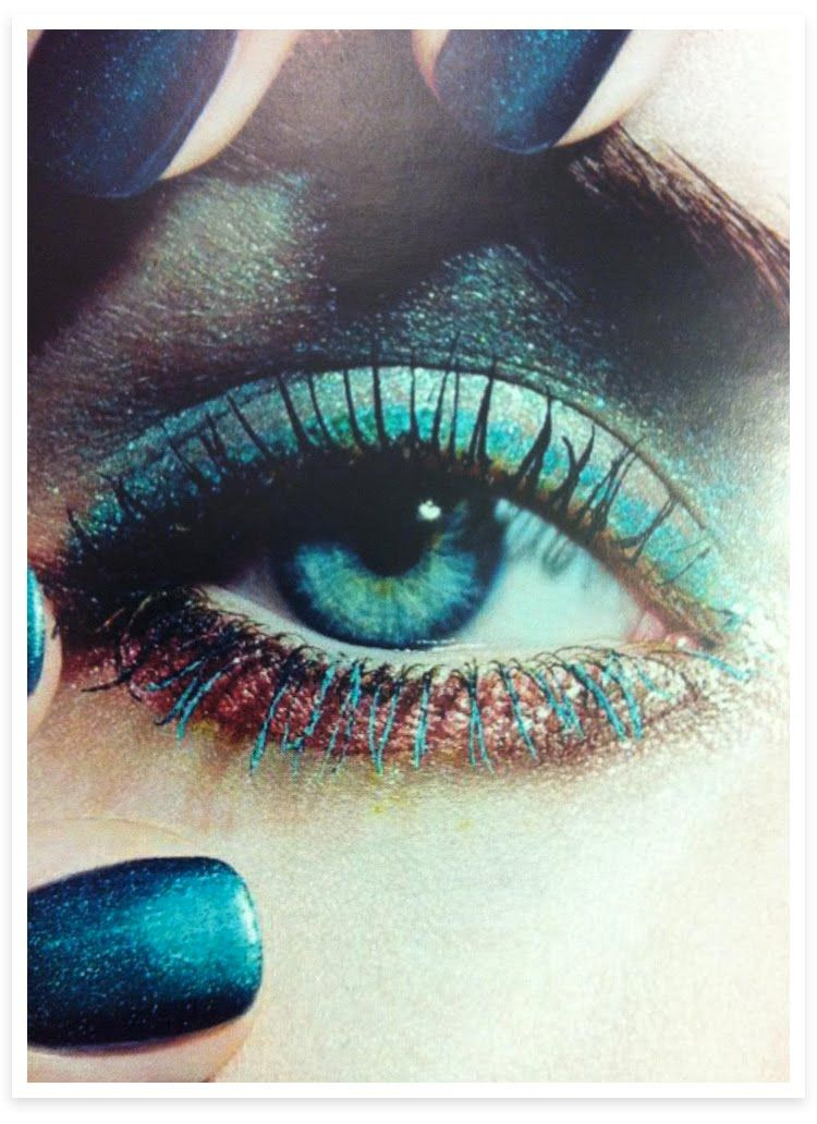 CHANEL SPRING-SUMMER 2013 eyes