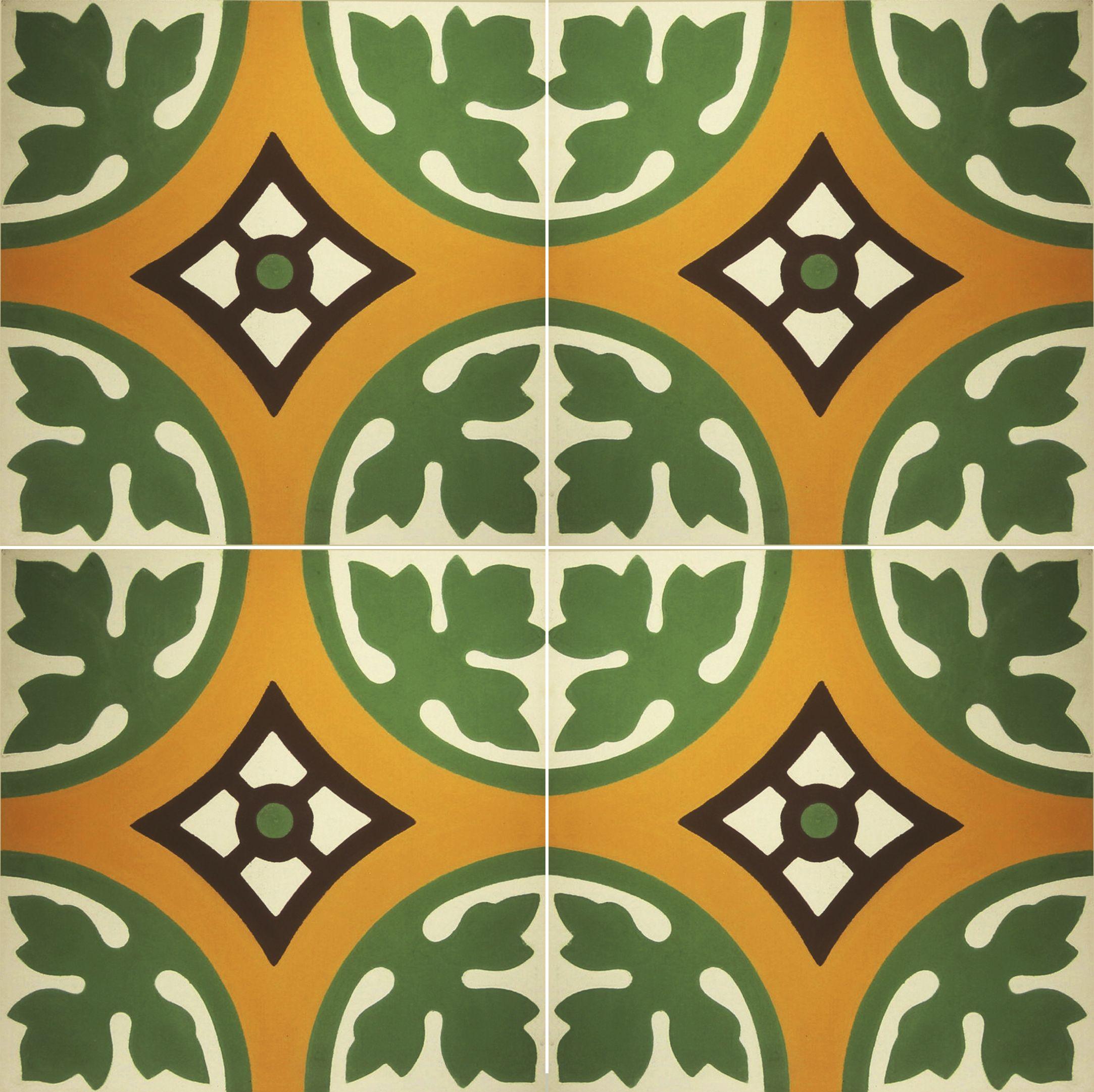 Diseño #mosaico #piso #baldosa #azulejo #cemento #Bordeaux-20 ...